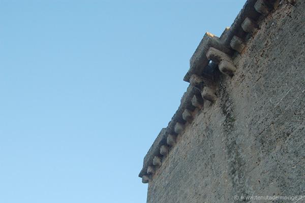 particolare di torre dell'alto