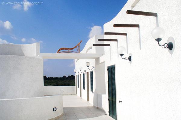 terrazza panoramica agriturismo salento